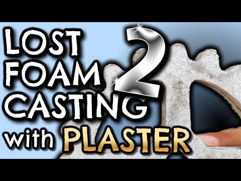 Lost Foam Casting IMPROVED Green Sand Technique by VegOilGuy
