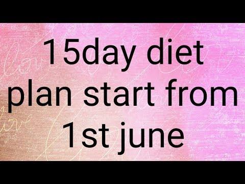 weight lose plan update/ 15 days diet plan for ladies