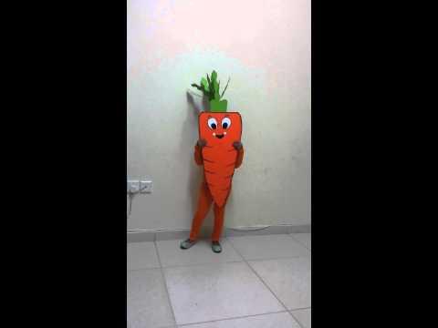 Fancy dress by Zeeba  as Carrot