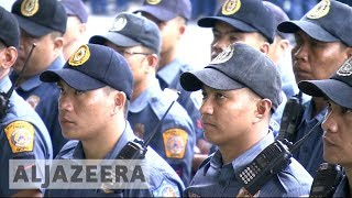 Duterte pulls Philippine police out of his