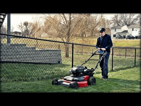 Lawn Update 49 - Maybe It's Not The End of the Lawn Care Season? More Timemaster Mulching Leaves