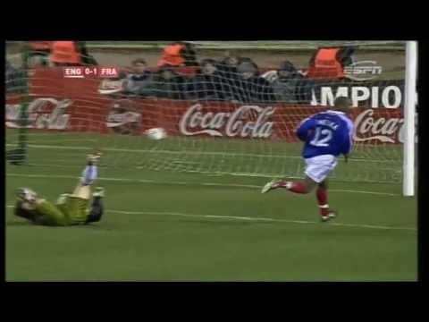 England 0-2 France, International Friendly 1999