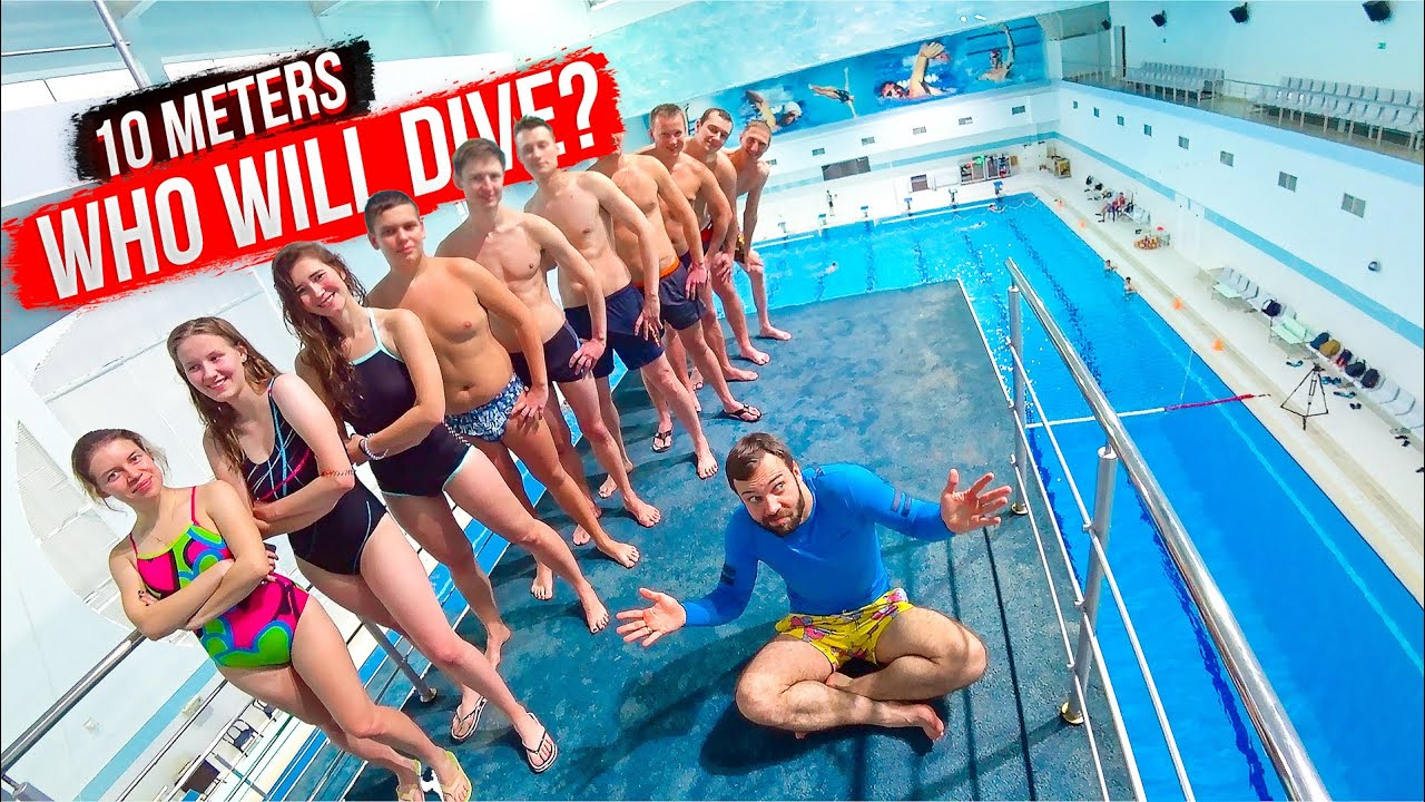 Regular People vs. OLYMPIC DIVING | Tough Challenge at the Swimming Pool