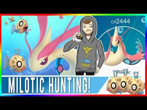 MILOTIC HUNTING! Feebas Candy Farming and Catching Pokédex Lotad!