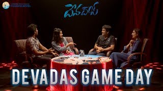 Devadas Game Day Video #Devadas | Akkineni Nagarjuna, Nani, Rashmika Mandanna, Aakanksha Singh