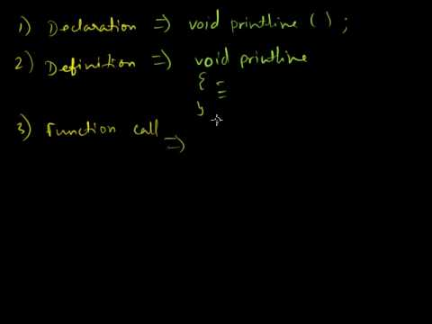 PFC #7: Functions - Arguments, Prototype, Call by Reference, Value, calling conventions, Pointers