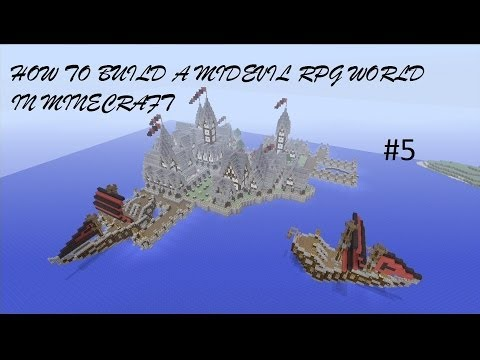 How to build a Mideval RPG World in Minecraft - Episode 5 ( Xbox 360 )