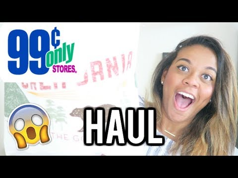 99 cent only store grocery haul! Healthy & Organic options!