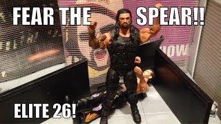 WWE ACTION INSIDER: Roman Reigns Elite series 26 Mattel Wrestling figure toy NEW Figures