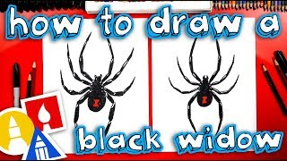 Download How To Draw A Black Widow Spider Video