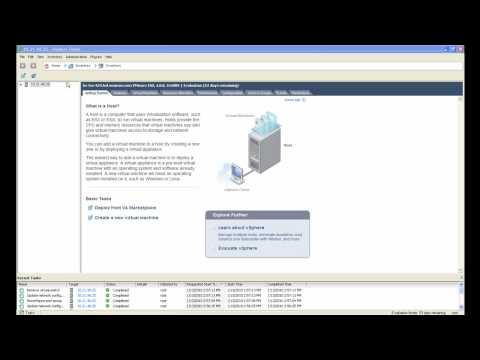 How to configure NIC teaming in VMware vSphere