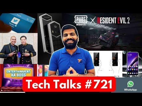 Tech Talks #721 - Redmi Note 7 India PUBG Zombie Mode, Vivo Apex 2019, S10+ Battery, Realme Phone