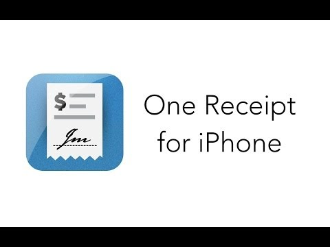 One Receipt for iPhone