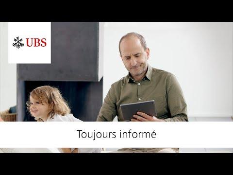 UBS Digital Banking. Toujours informé.