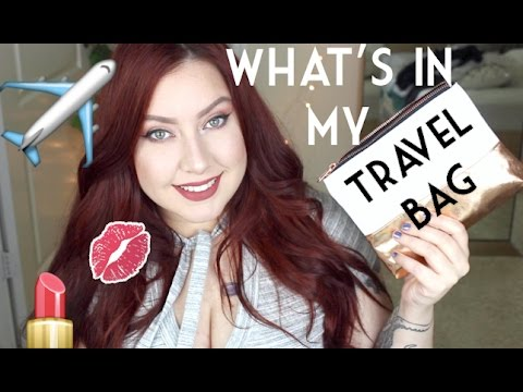 WHAT'S IN MY TRAVEL BAG | Beauty Edition