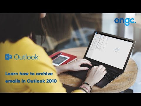 Archive Emails with Outlook 2010