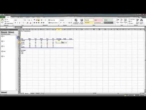 2.1 Clipboard Task Pane - MS Excel (Urdu) - MS Office 2010 Tutorials