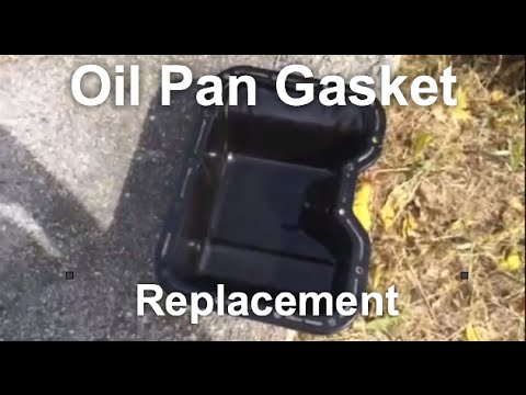 How to Replace OIL PAN GASKET - FAST & FUN