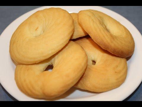 Simple & Easy Vanilla Butter Cookies
