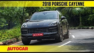 2018 Porsche Cayenne Turbo   First India Drive   Autocar India