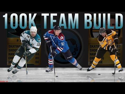 NHL 15 HUT   Best 100k Budget Team Build! (NHL 15 Hockey Ultimate Team)