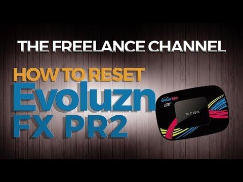 How to Reset Evoluzn FX PR2 pocket wifi