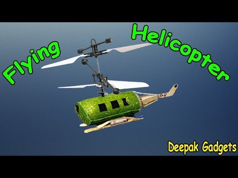 How to make a flying Helicopter at Home