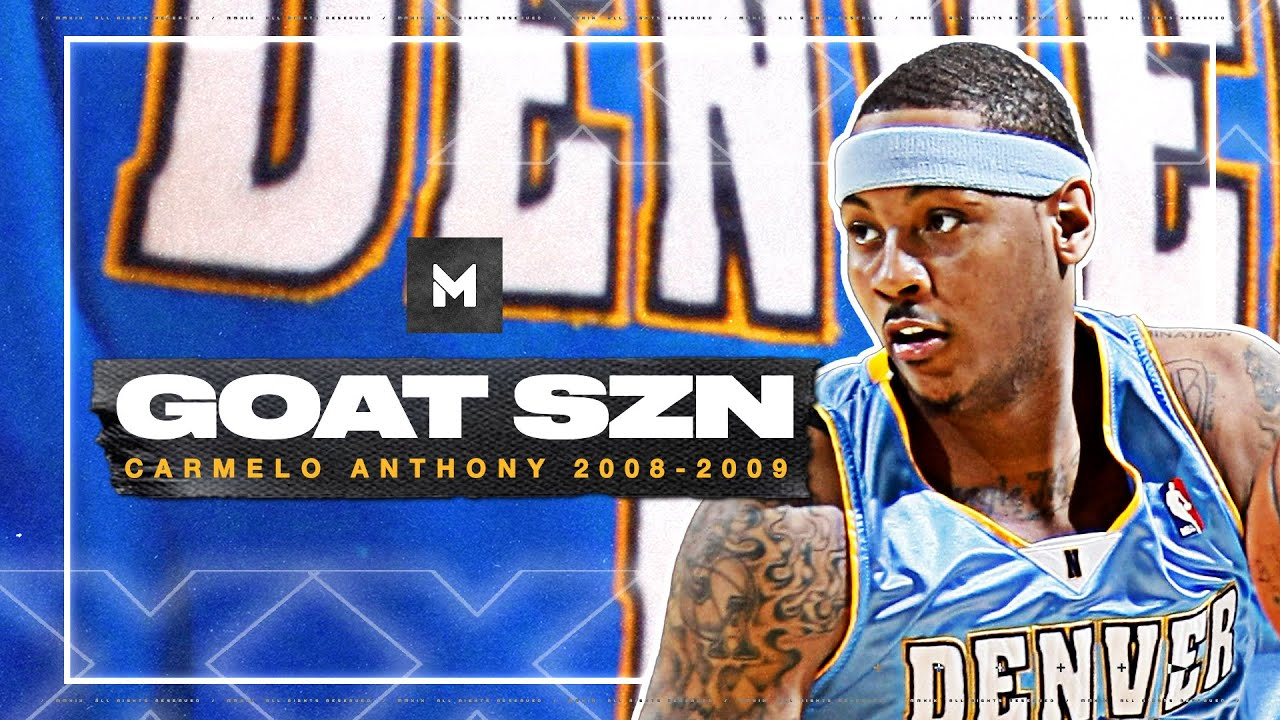 Behold The GREATNESS Of Carmelo Anthony! 2008-09 Highlights | GOAT SZN