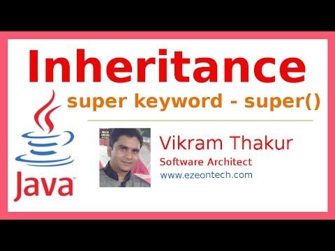 28 - Inheritance With Super Keyword - Java Training By eZeon