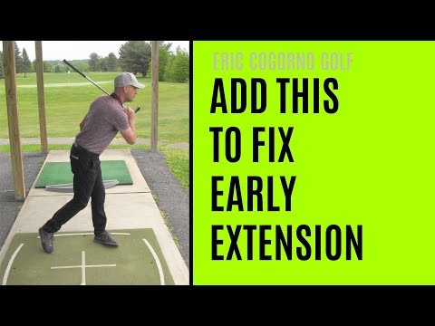 GOLF: What You Need To ADD To Fix Early Extension