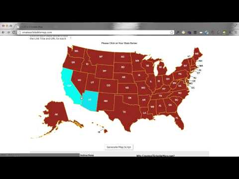 Create a Clickable (HTML5) US Map in Minutes!