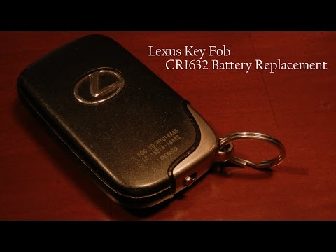 Lexus Key Fob Battery Replacement - Quick & Easy