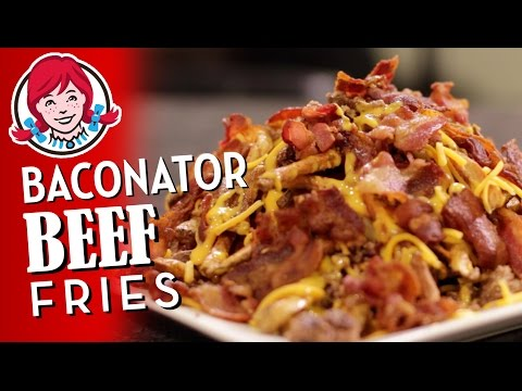 Wendy's Baconator Fries with BEEF