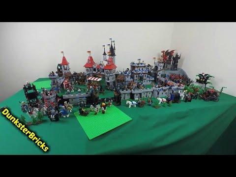 Building a LEGO Castle, Castle, CASTLE!