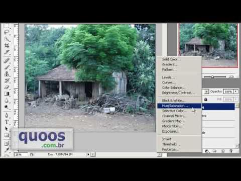 (Part 2-2) Como fazer imagens 3D no Photoshop CS3  (How do anaglyph colored in Photoshop CS3) -