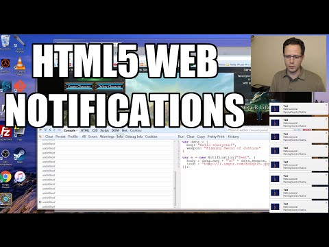 HTML5 Tutorial - Introduction to Web Notifications