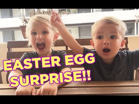 Chocolate Kinder Egg Surprise!! Happy Easter from Rome, Italy!!