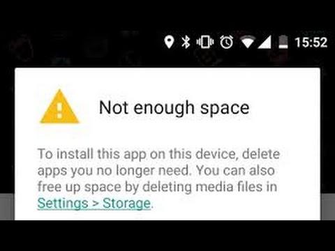 Not Enough Memory Space Problem Fix |Hindi|
