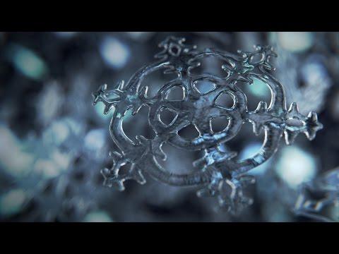 Blender Tutorial I Rendering a Snowflake in Cycles
