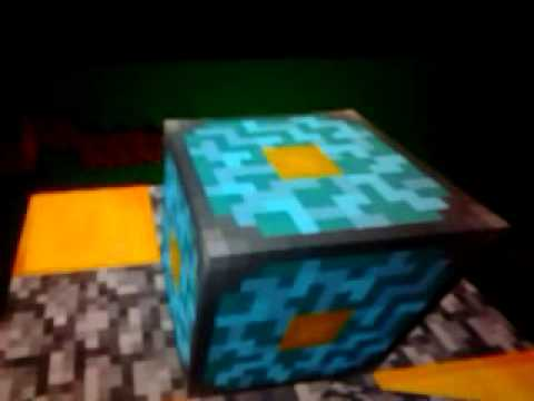How to make a nether portal in mincraft pe