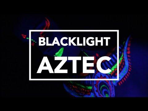 Blacklight makeup tutorial - NYX face awards 2015 entry