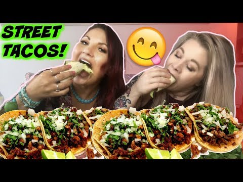 EATING STREET TACOS AND TALKING ABOUT LESBIAN STUFF *BURPING*