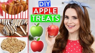 diy apple treats