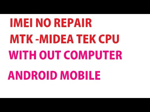 HOW TO CHANGE I.M.E.I NUMBER ANDROID MOBILE WITHOUT PC /LAPTOP/SOFTWARE BOX IN HINDI-हिंदी 2017