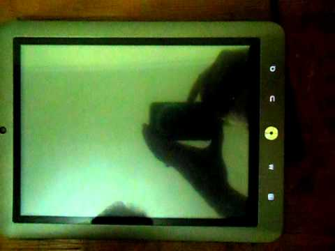Coby Kyros 8024 - Review Vídeo - Instalando o Android Market