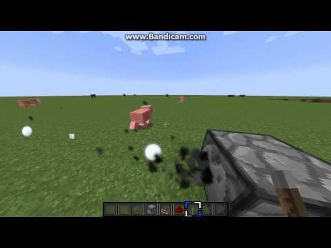 Minecraft Short Tutorials Part 5:How to make a snowball machine gun