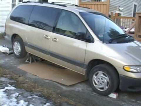How to Change a 2000 Dodge Grand Caravan Muffler Joe Practice® Style