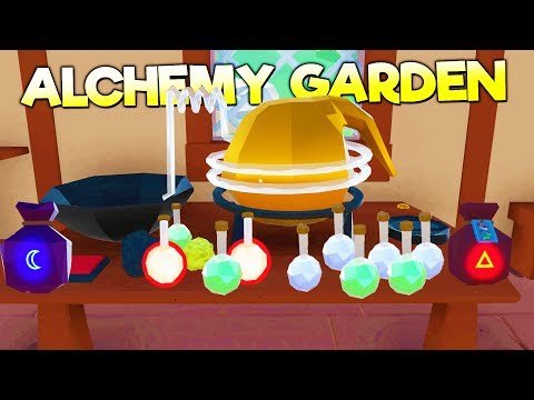 MY LITTLE ALCHEMY SHOP! My Little Blacksmith Shop Meets Alchemy! - Alchemy Garden Gameplay