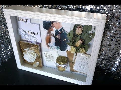 DIY: Shadow Box    Wedding Day Memories