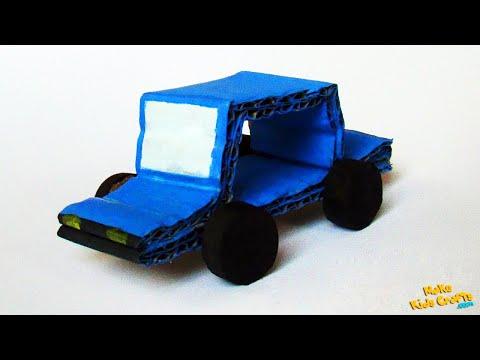 How to make a Cardboard Car? DIY